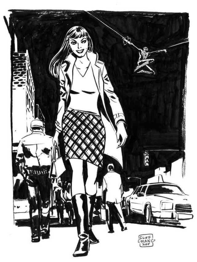 Mary Jane Watson by Cliff Chiang