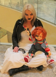 Chucky and his Bride - Dragon Con 2013