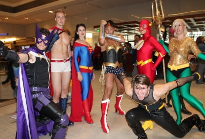 Genderbent Justice League - Dragon Con 2013