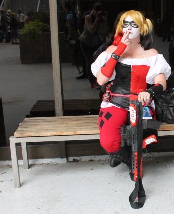 Harley - Dragon Con 2013