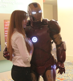 Pepper Potts & Iron Man - Dragon Con 2013