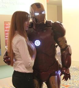 Pepper Potts & Iron Man - Dragon Con 2013