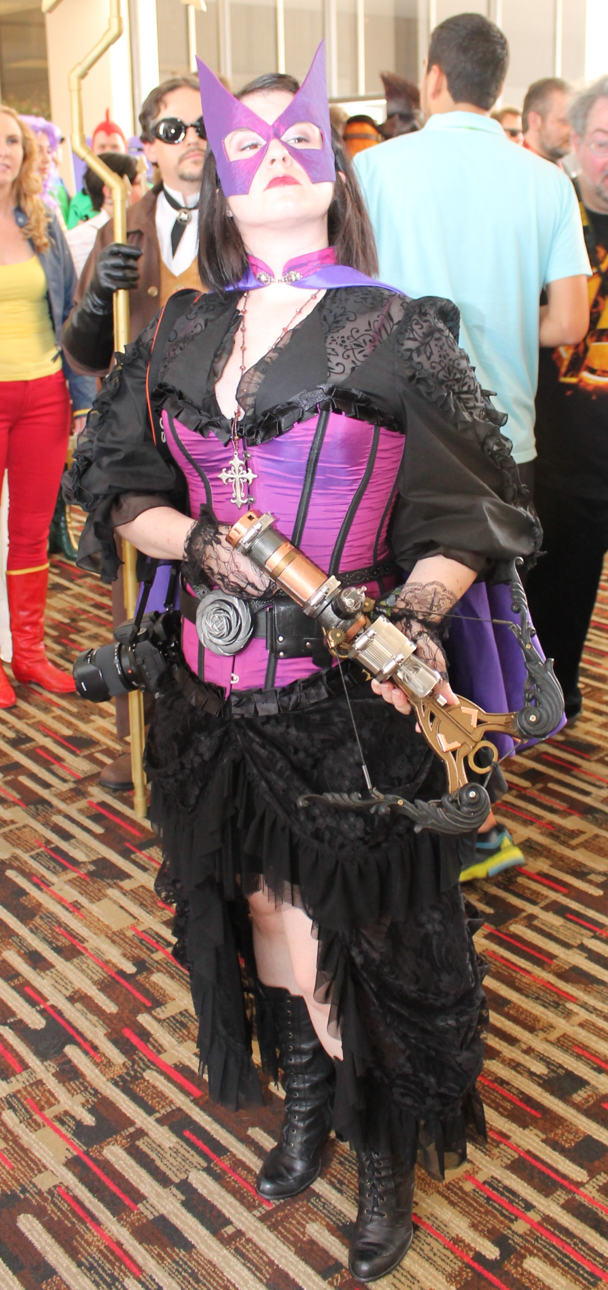 steampunk huntress � dragon con 2013 girls gone geek