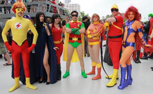 Teen Titans - Dragon Con 2013