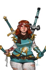 Violet the Hipster Dwarven Fighter