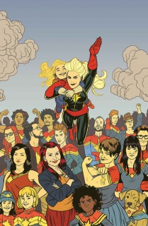 Captain Marvel by Kelly Sue DeConnick, various artists