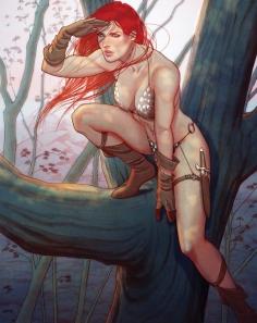 Red Sonja by Gail Simone, Walter Geovani
