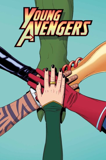 Young Avengers by Keiron Gillen, Jamie McKelvie