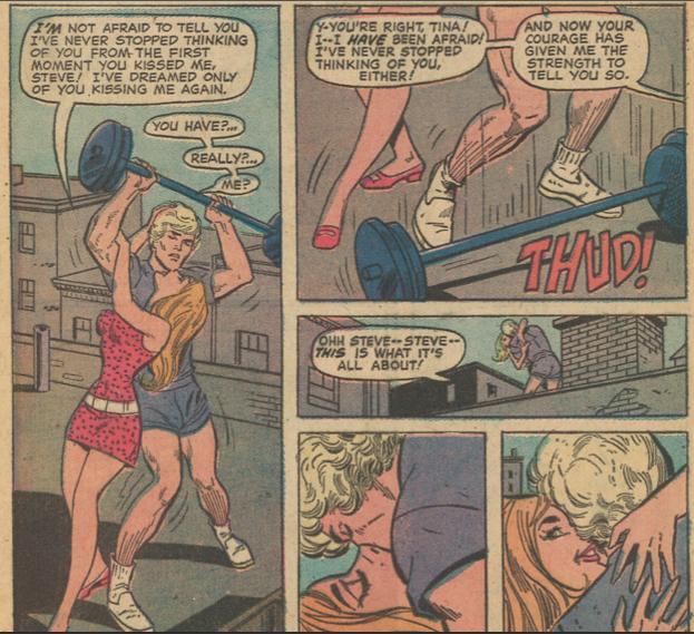 Young Romance #193-panel