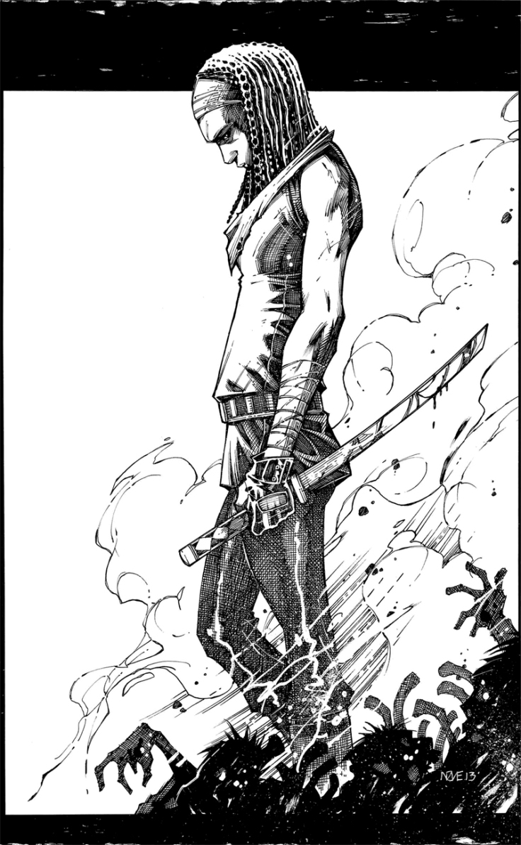 Michonne by Oliver Nome