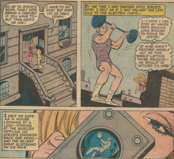 Young Romance #193 panel