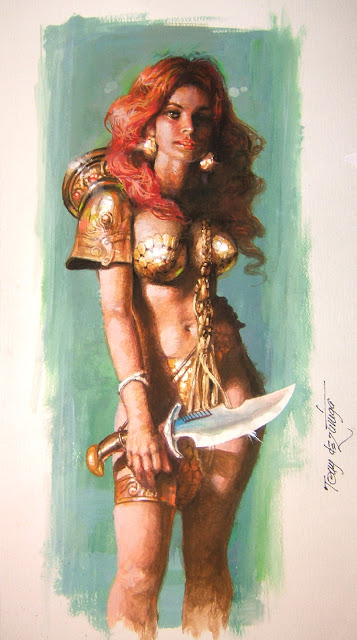 Red Sonja Tony DeZuniga