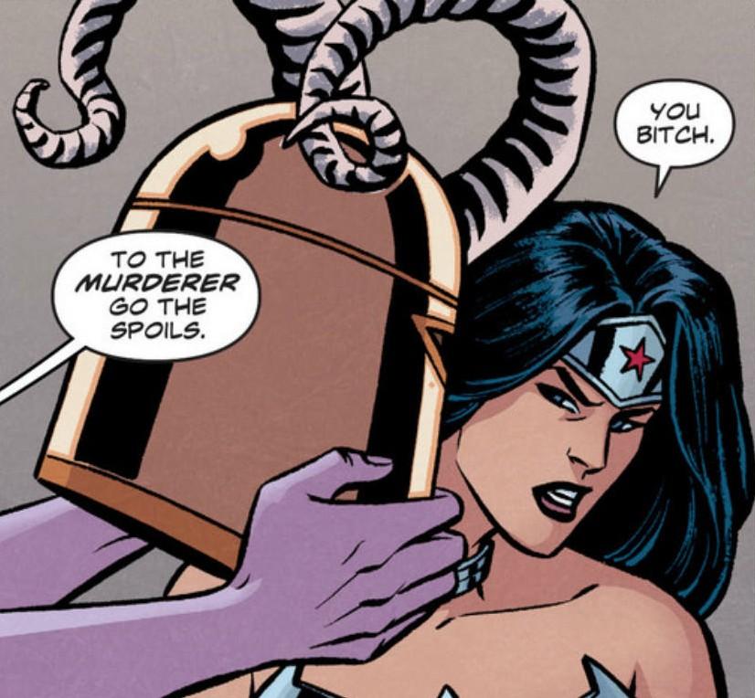 Wonder Woman #25 - You Bitch
