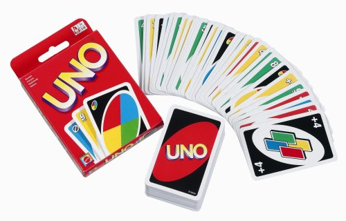 For more of a personal touch, I invite you to do as I have done in the past (to great success) and purchase a deck of Uno cards. Now take half of them and write arbitrary rules on them. The person that draws the card while playing must obey the rule. This technique also works well with Jenga, etc.