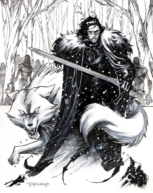 Jon Snow by Khary Randolph