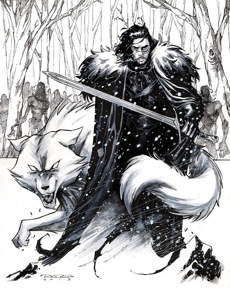 Jon Snow by Khary Randolph