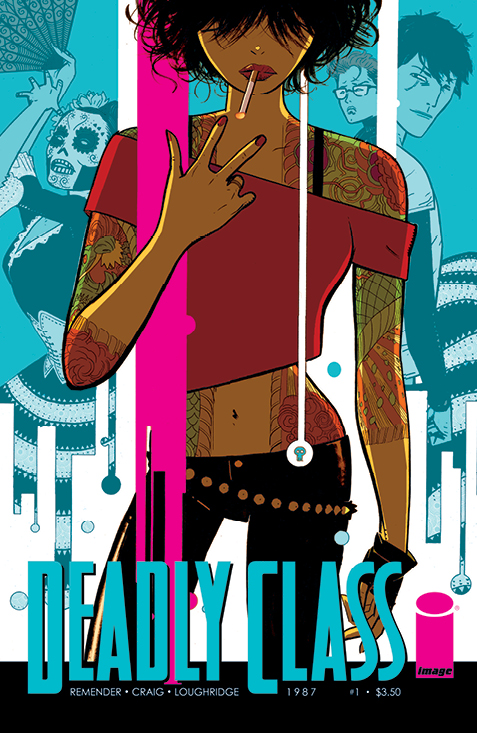 Lindsey reviews Rick Remender's Deadly Class#1