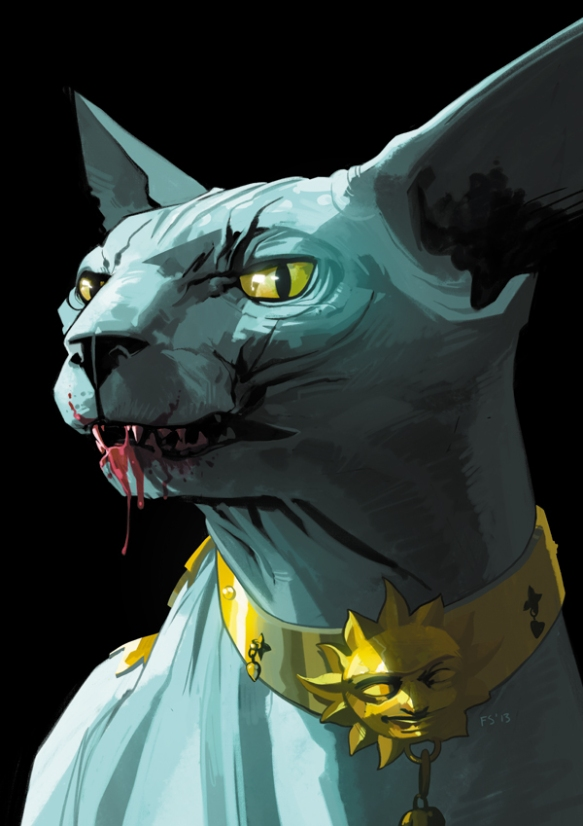 Lying Cat by Fiona Staples
