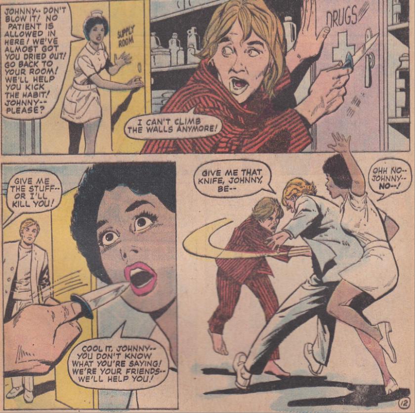 Young Romance #194 Panel 6
