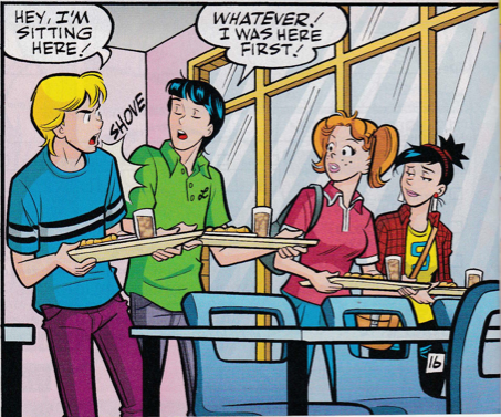 But seriously, how cute are Archie and Jughead as girls?