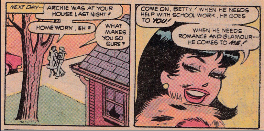Archie Andrews Where Are You #10 panel