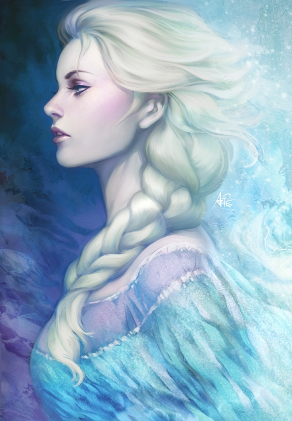 "Elsa from Frozen by Stanley ""Artgerm"" Lau"