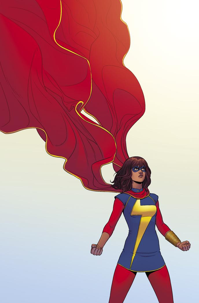 Ms Marvel by Jamie McKelvie