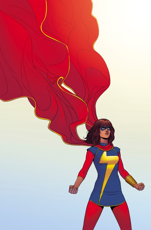 Ms Marvel by Jamie McKelvie