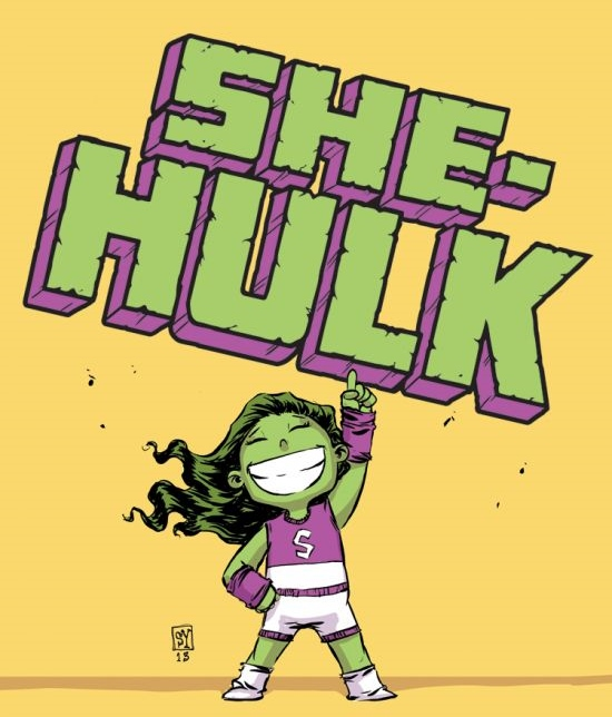 She Hulk by Skottie Young