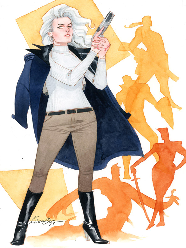 Silver Sable by Kevin Wada