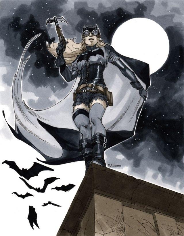 Steampunk Batgirl by Mahmud Asrar