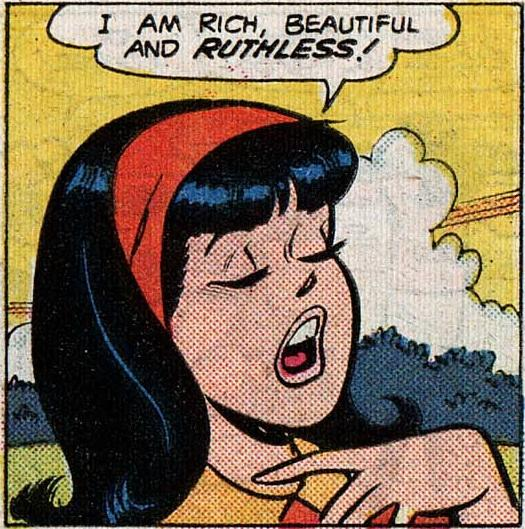 Proof that Veronica Lodge is the worst best friendever