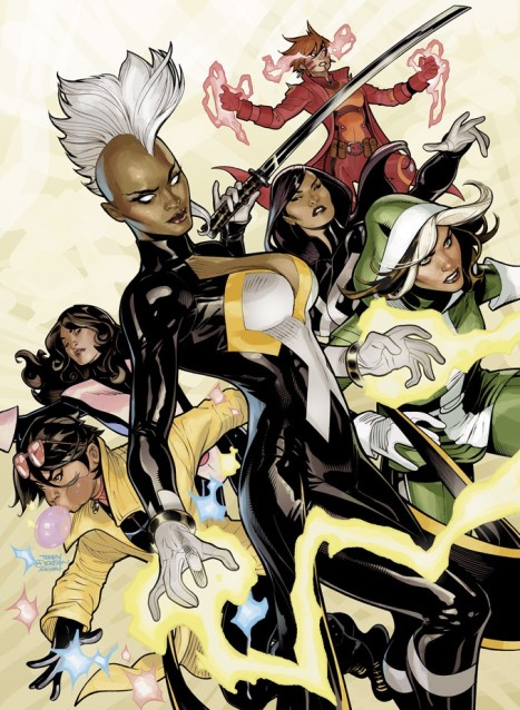 X-Men #1 by Terry Dodson