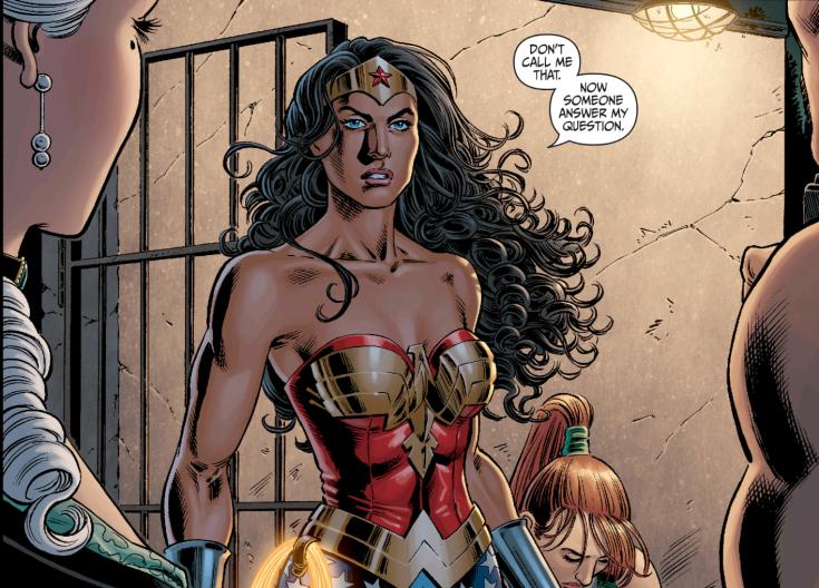 Secret Six #12 Wonder Woman arrives