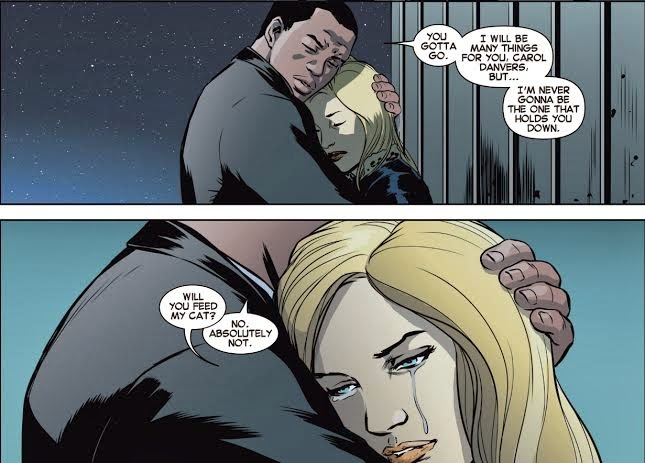 Carol and Rhodey