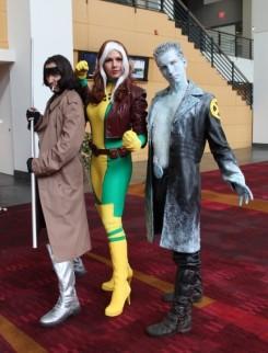 Gambit, Rogue, Iceman