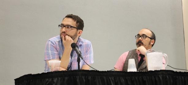 Joe Quinones (Savage Wolverine, The Superior Foes of Spider-Man), Kris Anka (X-Men), Marvel Artists panel