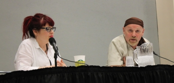 Kelly Sue DeConnick & Jim Starlin, Marvel Writers panel