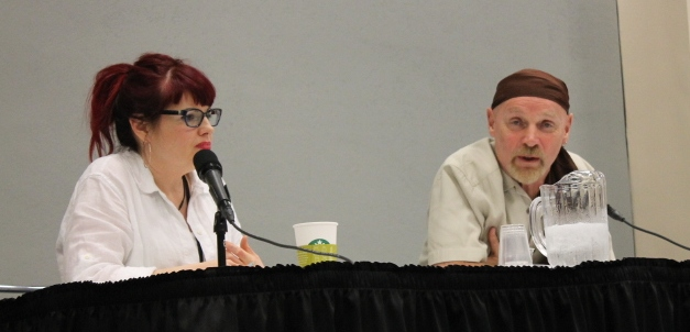 Kelly Sue DeConnick & Jim Starlin, Marvel Writers panel