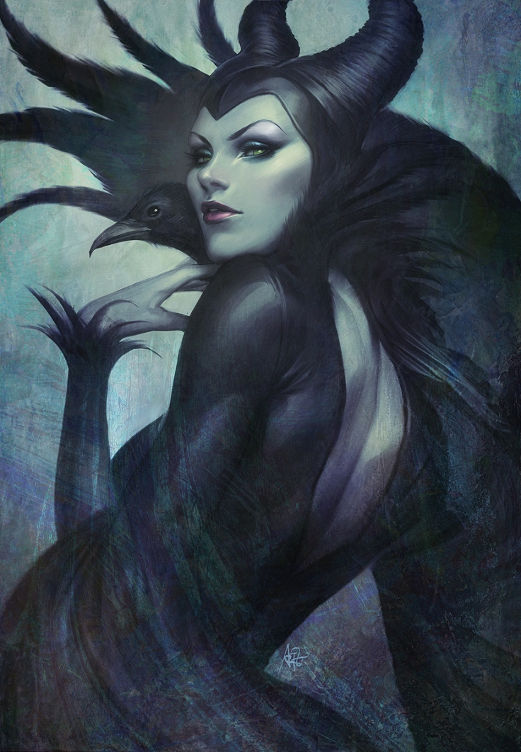 "Maleficent by Stanley ""Artgerm"" Lau"