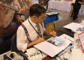 Artist Ted Naifeh (Courtney Crumrin, Princess Ugg)