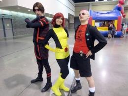 Cosplay by Chris Troy (@theanarchris) & Carrie Wink (@winkonthings). Photo by Susan Degen (@pepperbots).