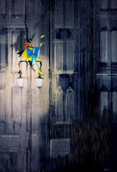 Batgirl by Pascal Campion