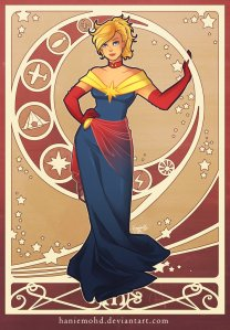 Captain Marvel by HanieMohd