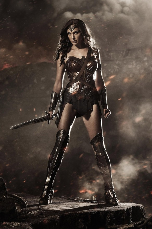 Gal Gadot as Wonder Woman via Newsarama