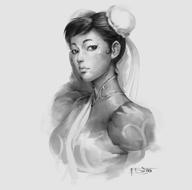 Chun-Li by Devon Cady-Lee