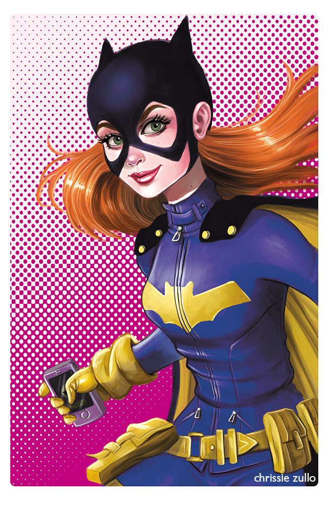 Batgirl by Chrissie Zullo