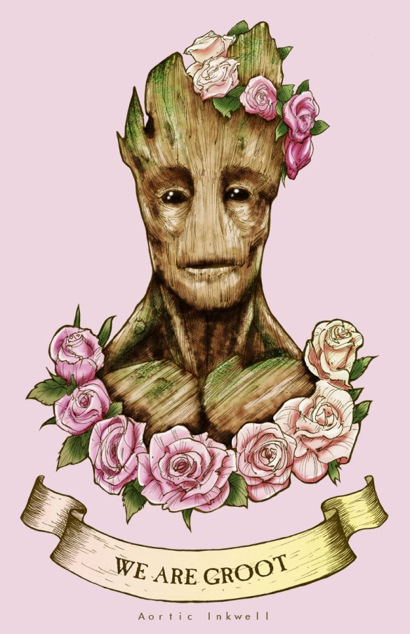 We Are Groot by Aortic Inkwell