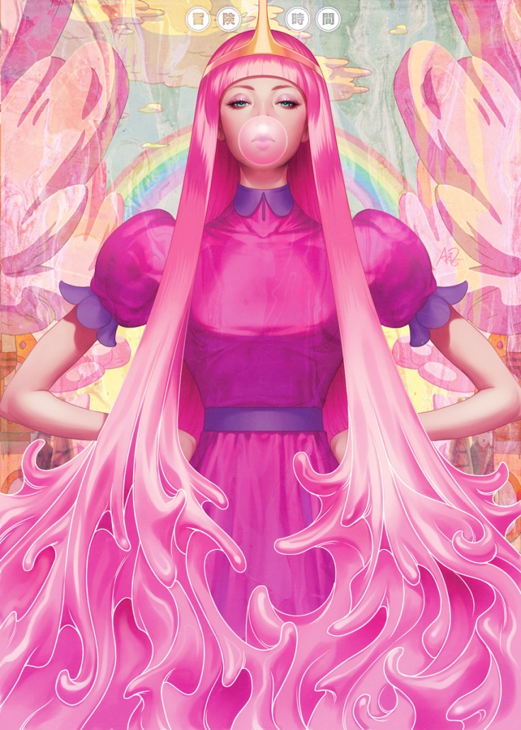 Princess Bubblegum by Stanley Artgerm Lau