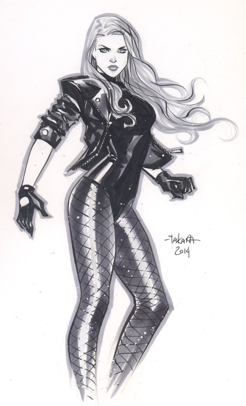 Black Canary by Marcio Takara